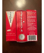 Pinnacle Gold Distance Golf Ball (3 Packs) 9 Balls New Golf Drive Putt R... - £12.93 GBP