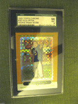 Kyle Orton RC 2005 Topps 50th Anniversary CHROME XFRACTOR Card#187 Graded MINT 9 image 2