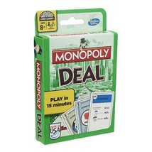 MONOPOLY Deal Card Game by Hasbro NEW - $7.29