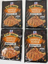 McCormick Grill Mates Chipotle Pepper Marinade Mix 4 Package Best By 2/2... - $20.77