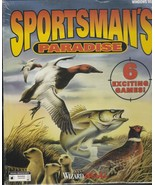 Sportsman's Paradise - Wizard Works Game - Windows 95 - IBM 3.1 - 6 Games - $18.99