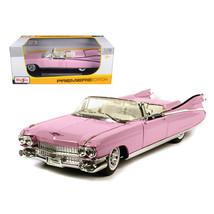 1959 Cadillac Eldorado Biarritz Pink 1/18 Diecast Model Car by Maisto 36... - $51.01
