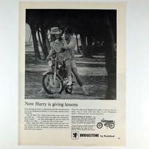 1966 Bridgestone by Rockford 60 Sport Motorcycle Photo Print Magazine Ad - $9.89