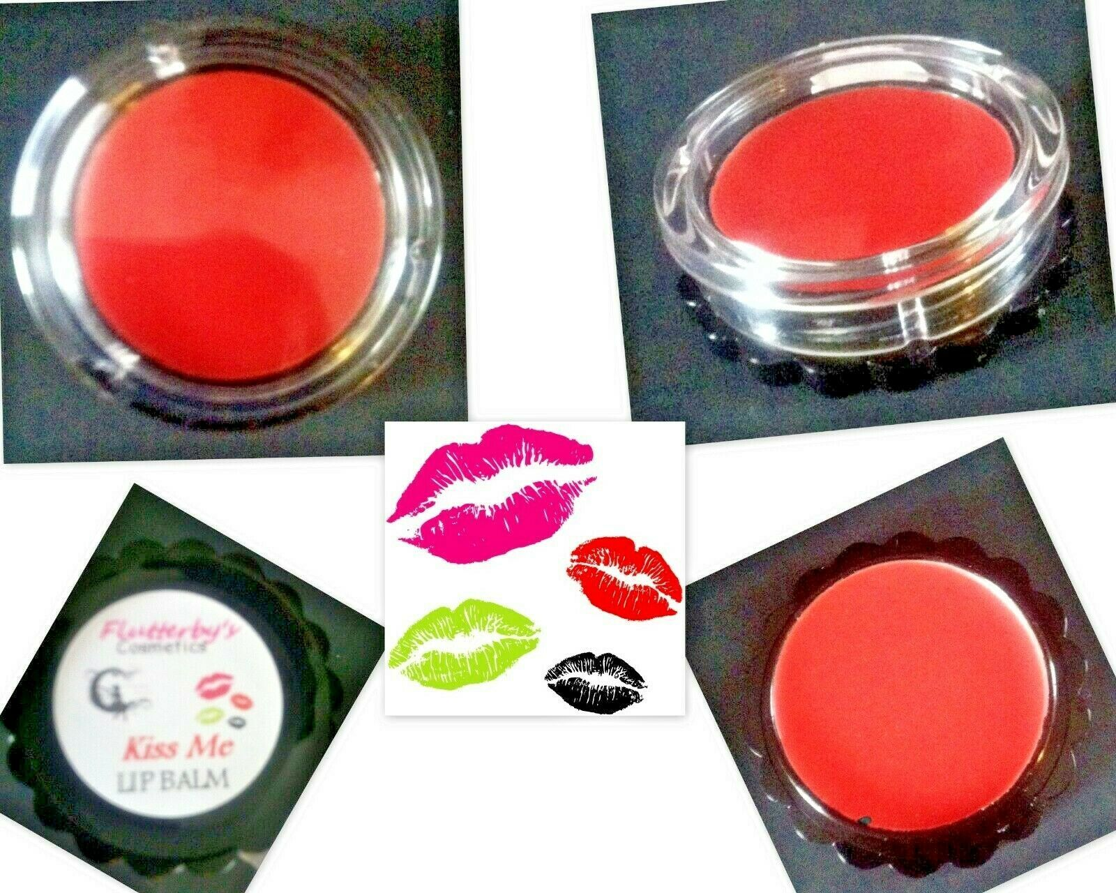Primary image for Kiss Me Coral Lip Balm Tint Pure Natural Organic Lip Stick Cream Balm Gloss