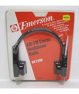Emerson AM/FM Stereo Headphone Radio AR2200 - $69.25