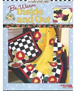 """2004 - Mary Engelbreit """"Be Warm Inside and Out"""" Fleece Sewing Book - $18.00"""