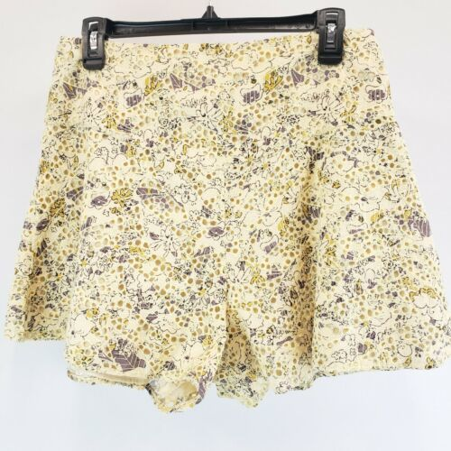 Primary image for NWOT $78 Free People Allover Print Woven Shallow Waters Shorts Size 8