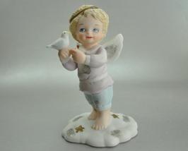 Tender Hearts Come Fly with Me Katharine Stevenson Angel Figurine 1995 - $8.99