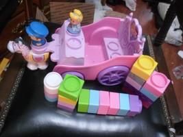 24 pc FP Little People Builder Princess Carriage, Horse, Blocks,Princess,Driver  - $8.27