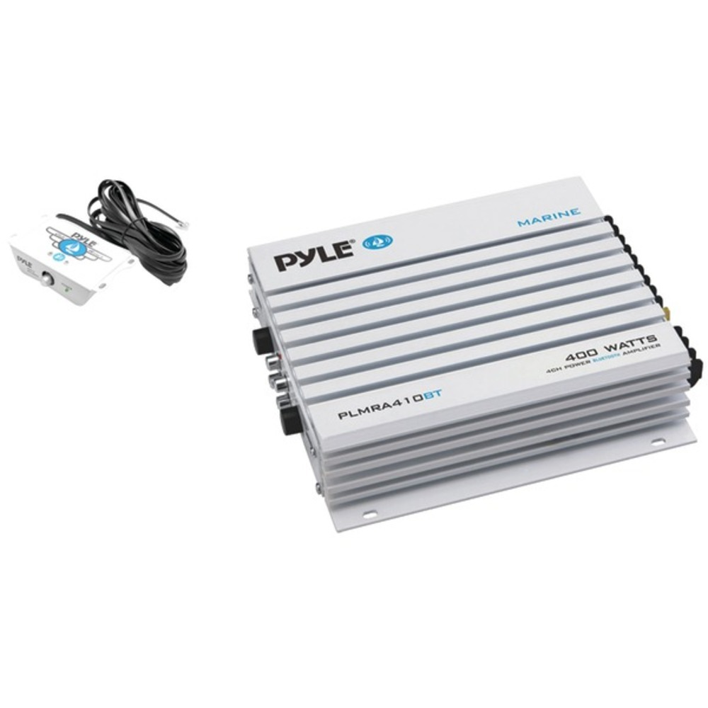 Primary image for Pyle PLMRA410BT Elite Series Waterproof 400-Watt Marine Class AB Amp with Blueto