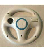 Nintendo Wii Racing Steering Wheel Official Mario Kart Accessory RVL-024  - $8.99