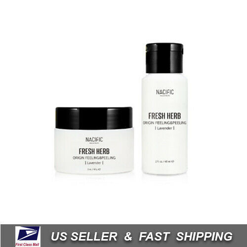 [ NACIFIC ] Fresh Herb Origin Feeling & Peeling Lavender 60 ml /2oz +Free Sample - $24.73