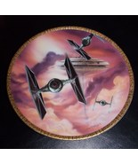 1995 Star Wars Hamilton Collection Tie Fighters Collector Plate - $34.99