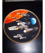 1997 Star Wars Hamilton Collection Y-Wing Fighter Collector Plate - $34.99