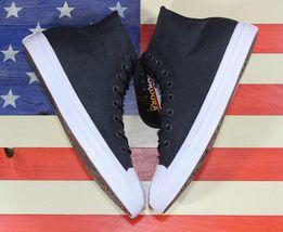 CONVERSE SAMPLE Chuck Taylor ALL-STAR HI Cordura Black White Shoe [157516C] sz 9 image 4