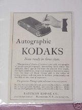 1914 Ad Autographic Kodak 3 Sizes Eastman Kodak Company - $7.99