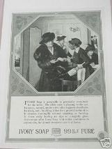 1918 Ad Ivory Soap Maid Handing Out Ivory Soap - $7.99