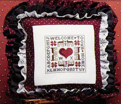 CROSS STITCH BARRET HOUSE EIGHTH EFFORTS BY JANIE JONES - $2.95