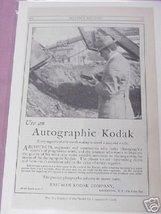 1915 Ad Use An Autographic Kodak Eastman Kodak Company - $7.99