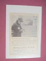 1915 Autographic Kodak Ad Eastman Kodak Company - $7.99