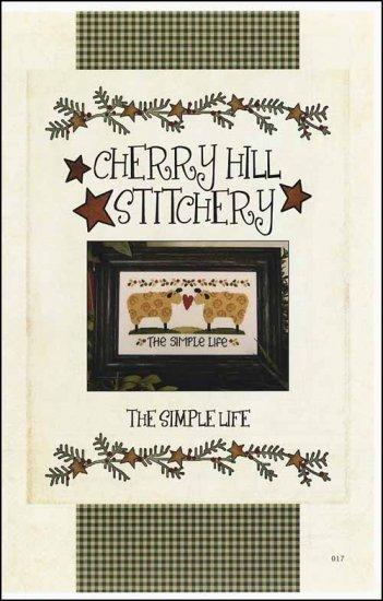 The Simple Life cross stitch chart Cherry Hill Stitchery