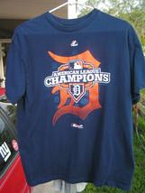 Detroit Tigers 2012 AL Champions Men's Large Shirt - $11.26
