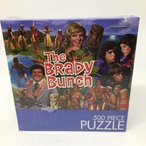 """NEW 500 pc Puzzle The Brady Bunch HAWAII BOUND 18"""" x 24"""" - $15.88"""