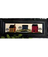 Salt Box Neighborhood cross stitch chart Cherry Hill Stitchery - $7.20