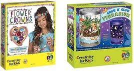 Creativity For Kids Flower Crowns Craft Kit - Create 4 Hair Accessories ... - $58.64