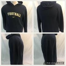 Nike Football Athletic Warm Up Hoodie Sweatshirt Youth XL Blue - $16.82