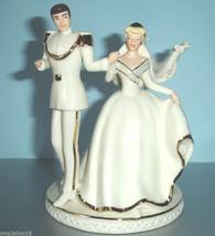 Lenox Disney Wedding CAKE TOPPER Cinderella & Prince Charming Magical Mo... - $128.90