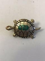 Vintage Turtle Brooch Pin - $9.50