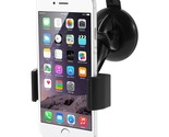 Suction Cup 360-degree Rotary Car Mount Holder for iPhone 6 Samsung Galaxy S5, W