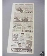 1940 Ad Prince Albert Pipe and Cigarette Tobacco - $7.99