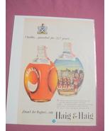 1940's/50's Haig & Haig Blended Scotch Whiskey Ad - $7.99