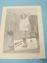 1945 South Africa Ad Fairweather Linen Costumes - $9.99