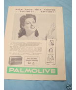 1945 South Africa Ad Palmolive Soap - $9.99