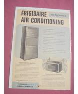 1940's/50's Frigidaire Air Conditioning Ad Conditioner - $7.99