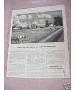 1941 Ad Metropolitan Life Insurance Company - $7.99