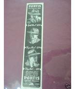 1940 Portis Men's Hats Ad Portis Bros. Hat Co., Chicago - $7.99