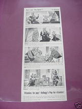 1940 Kellogg's Pep Cereal Ad How's Your Pep Appeal? - $7.99
