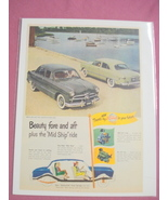 1949 Ford Ad Beauty Fore and Aft plus the Mid Ship Ride - $7.99
