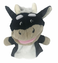 Lakeshore Let's Talk Big Mouth Cow Hand Puppet Plush - $14.84