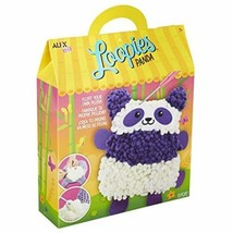 Alex Loopies Yarn and Plush Panda Kids DIY Craft Kit - $9.17