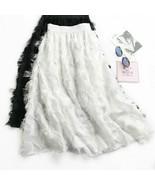 Chiffon Skirts 2019 New Summer Korean Chic High Waist Big Swing Long Skirt - $29.99