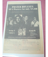 1977 Poster Ad Steve Austin Jamie Somers Donny & Marie - $7.99