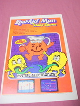 1983 Ad Kool-Aid Man Video Game from Mattel Electronics - $7.99