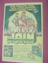 1982 TSR Ad Star Frontier Game - $7.99
