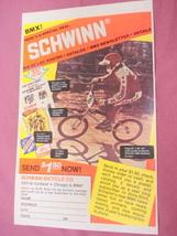 1980 Ad Schwinn BMX, Schwinn Bicycle Co., Chicago, Il. - $7.99