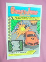1983 Ad Bump 'n' Jump Video Game Mattel Electronics - $7.99